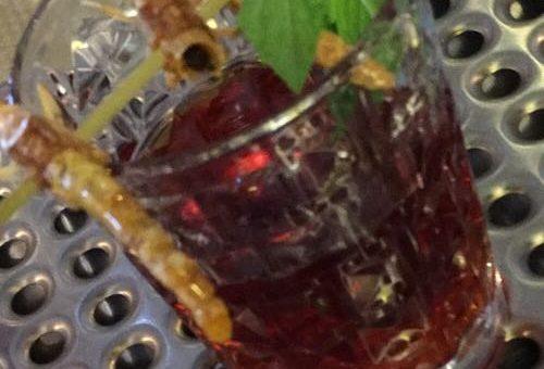 Gin an Heuschrecken mit Hibiskus Tonic, schmeckbaR anderS