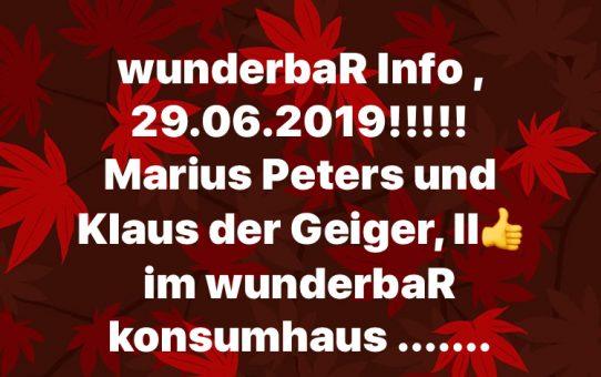 wunderbaR Info!!!